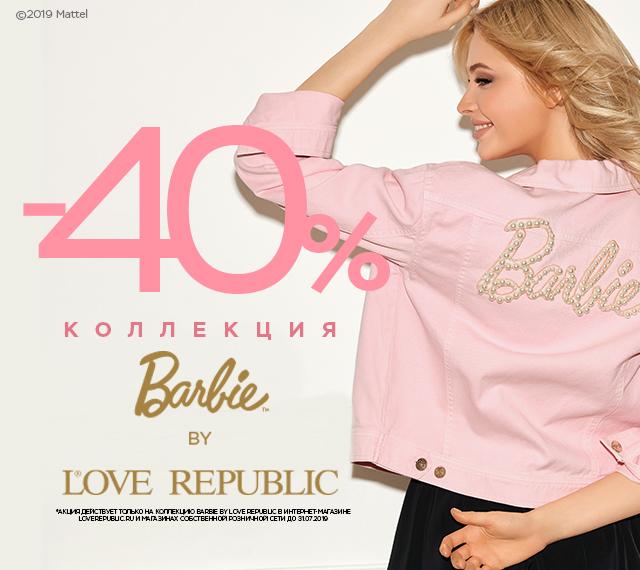 -40% Barbie by LOVE REPUBLIC