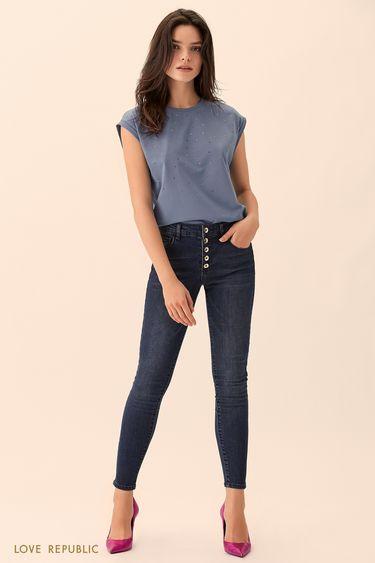 Брюки джинсовые 01512100745