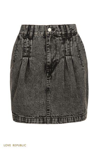Юбка джинсовая 0152193212