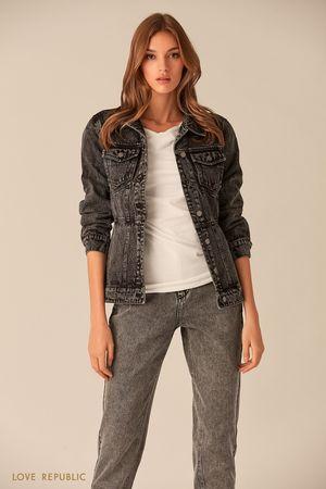 Фото #1: Куртка джинсовая женская
