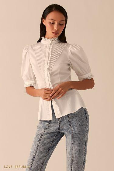 Белая блузка в викторианском стиле 0358061360