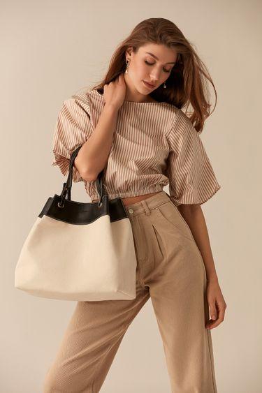 Контрастная сумка-мешок 044520121