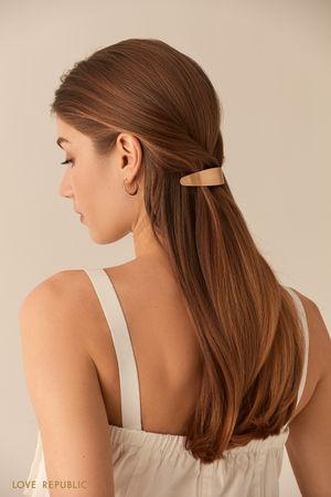 Металлическая заколка для волос фото
