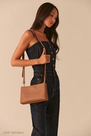 Лаконичная сумка кросс-боди фото
