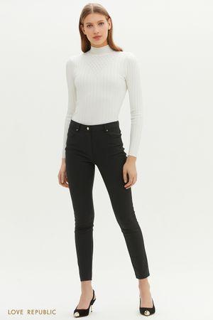Классические брюки-скинни