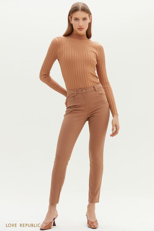 Классические брюки-скинни 1152233729-62