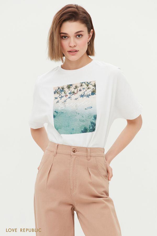 Oversize футболка Seaside 1254142382-1