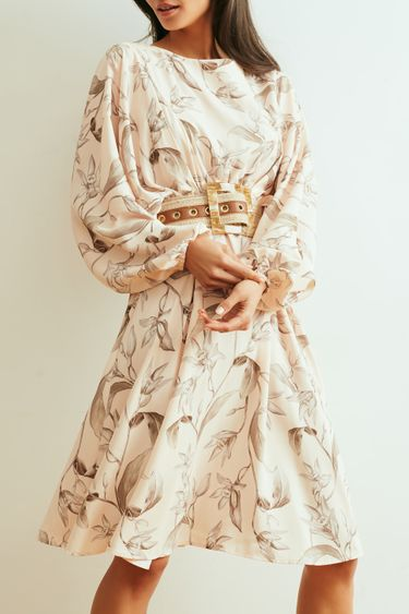 Струящееся платье с цветочным принтом 1254238564