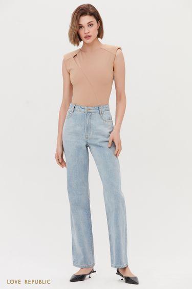 Прямые джинсы классического кроя 1254457774