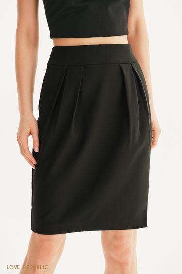Базовая юбка-тюльпан 1256234210