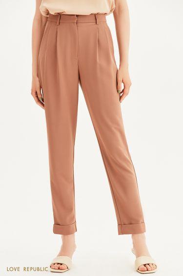 Классические брюки с защипами 1357218722