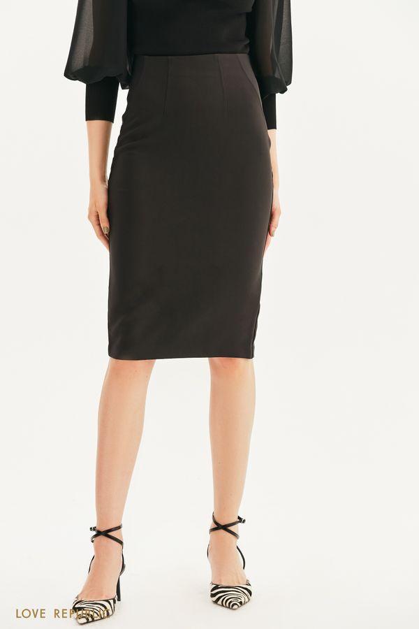 Базовая юбка-карандаш 1357217215-50