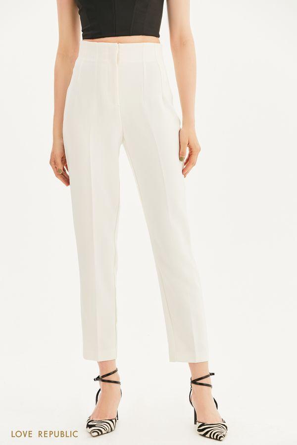 Зауженные брюки со стрелками 1357217711-50