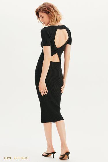 Платье-лапша с открытой спиной 1357301512
