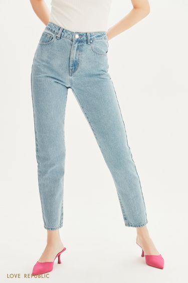 Базовые прямые джинсы 1357419719