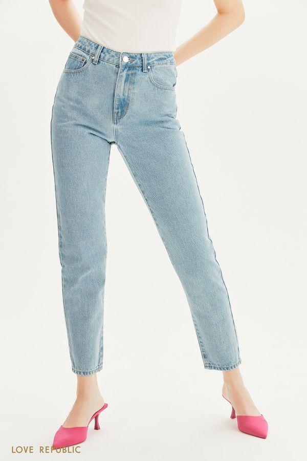 Базовые прямые джинсы 1357419719-102
