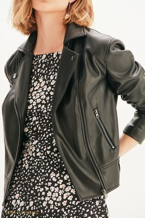 Куртка-косуха из экокожи