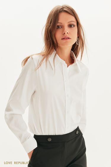 Приталенная рубашка 1358001308