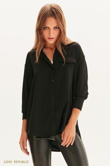 Легкая рубашка с длинным рукавом 1358004311