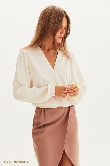 Легкая блузка свободного кроя 1358011326