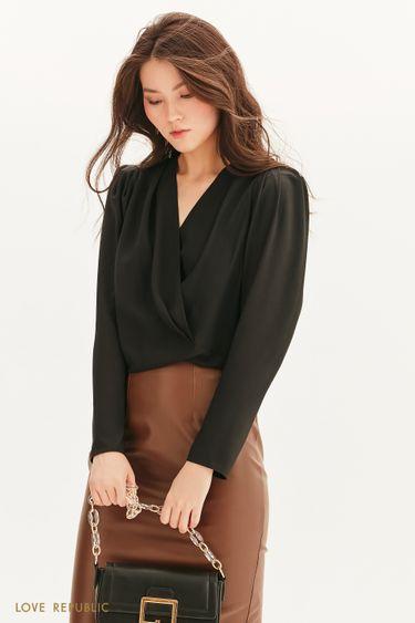Блузка на запах 1358016331