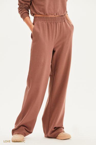 Широкие трикотажные брюки 1358118732