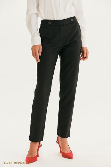 Хлопковые брюки с пуговицами 1358224728