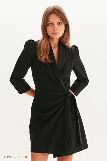 Платье-пиджак на запах 1358247526