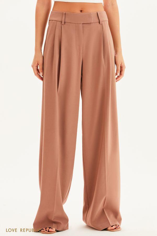 Костюмные брюки-палаццо 1358230722-66