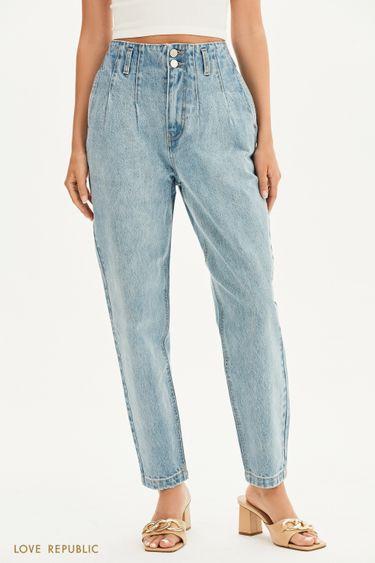 Прямые джинсы свободного кроя 1358405710