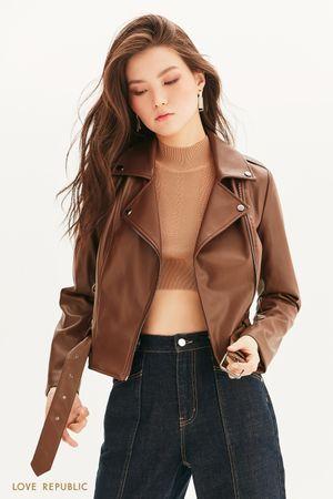 Куртка-косуха с поясом