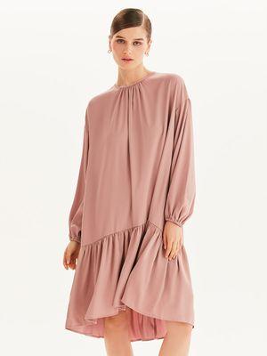 Платье-парашют с завязками