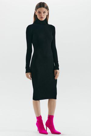 Платье-лапша из смесовой вискозы