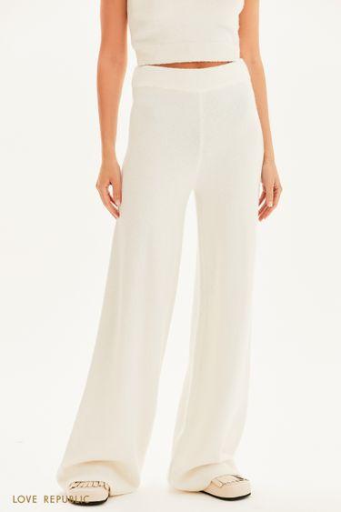 Трикотажные брюки на резинке 1359303703