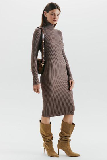 Платье-лапша из смесовой вискозы 1359313501
