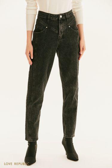 Базовые джинсы с вытачками 1359417706