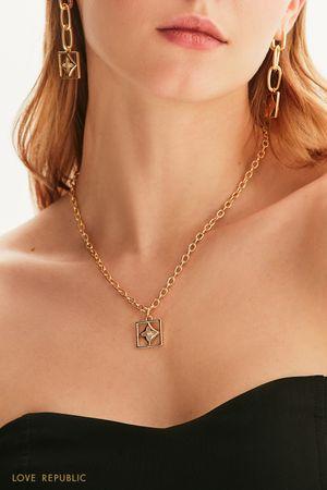 Ожерелье-цепь с подвеской