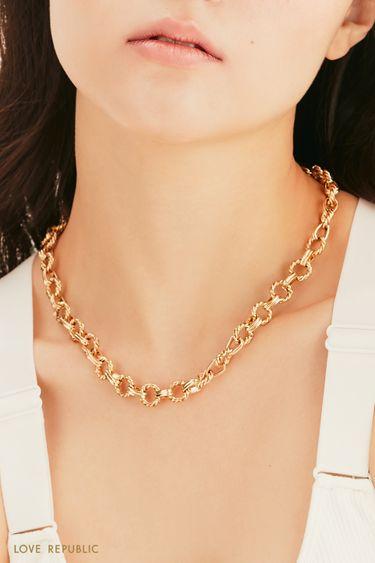 Массивное ожерелье-цепь 144745024