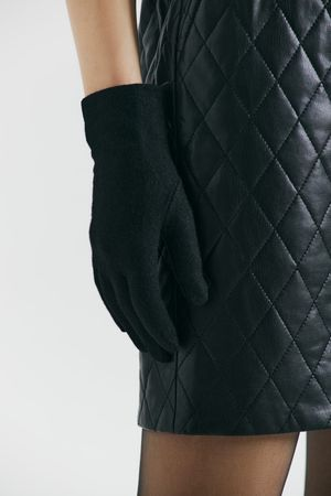 Перчатки из смесовой шерсти