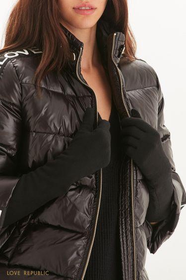 Длинные перчатки из смесовой шерсти 144917003