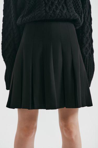 Мини-юбка со складками 1450202202