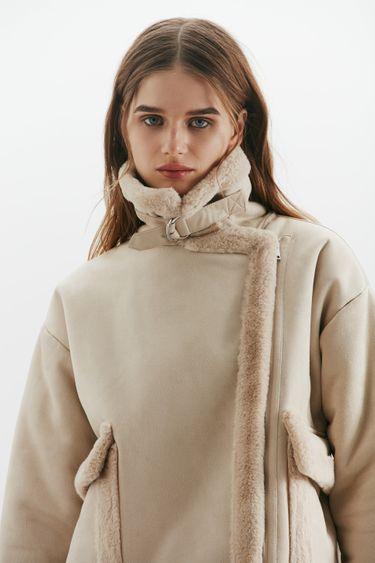 Куртка-авиатор с накладными карманами 1450505105