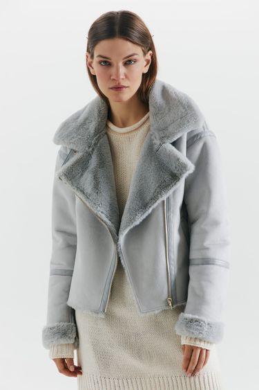 Куртка-авиатор из экозамши 1450516116
