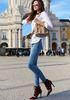 Брюки джинсовые 615338706-41