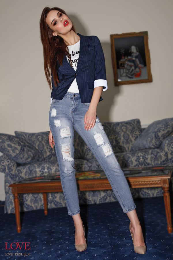 Брюки джинсовые 7153500722-101