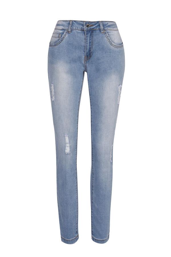Брюки джинсовые 7153502724-104