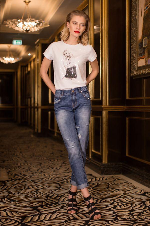 Брюки джинсовые 7153802720-41
