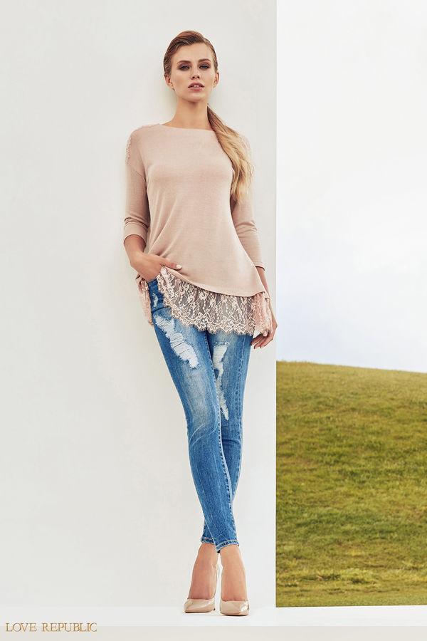 Брюки джинсовые 7358201701-47