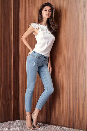 Купить со скидкой Брюки джинсовые