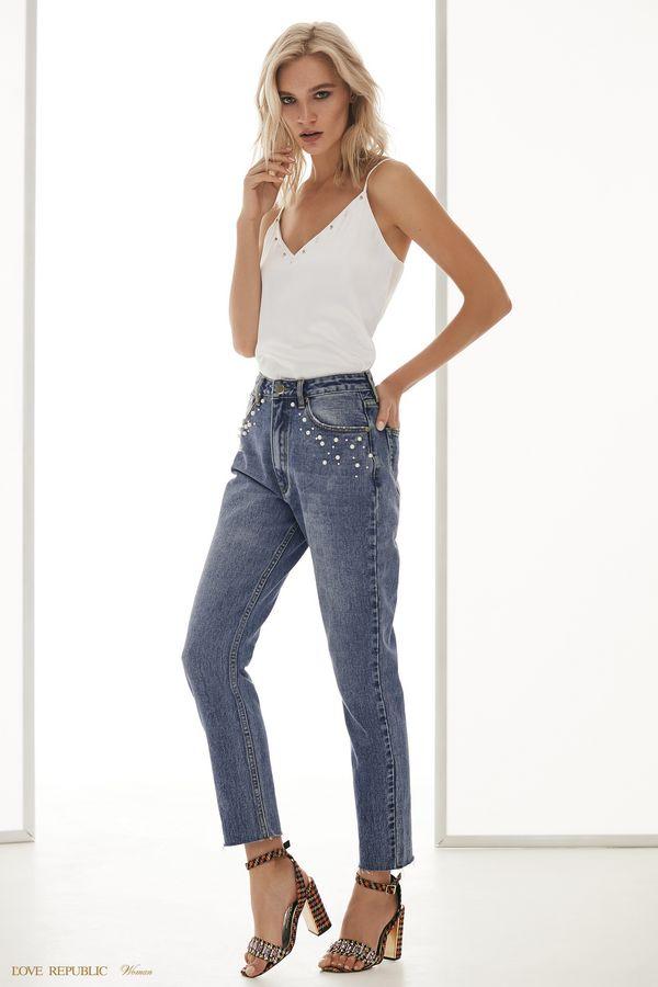 Брюки джинсовые 8255801709-101